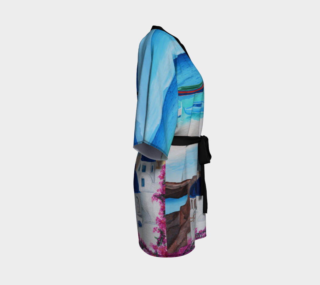 Aperçu de Greece Kimono Robe #3