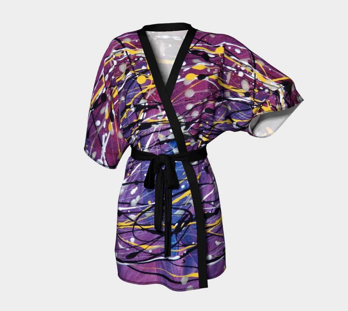 Galaxie Éclairante Kimono preview #1