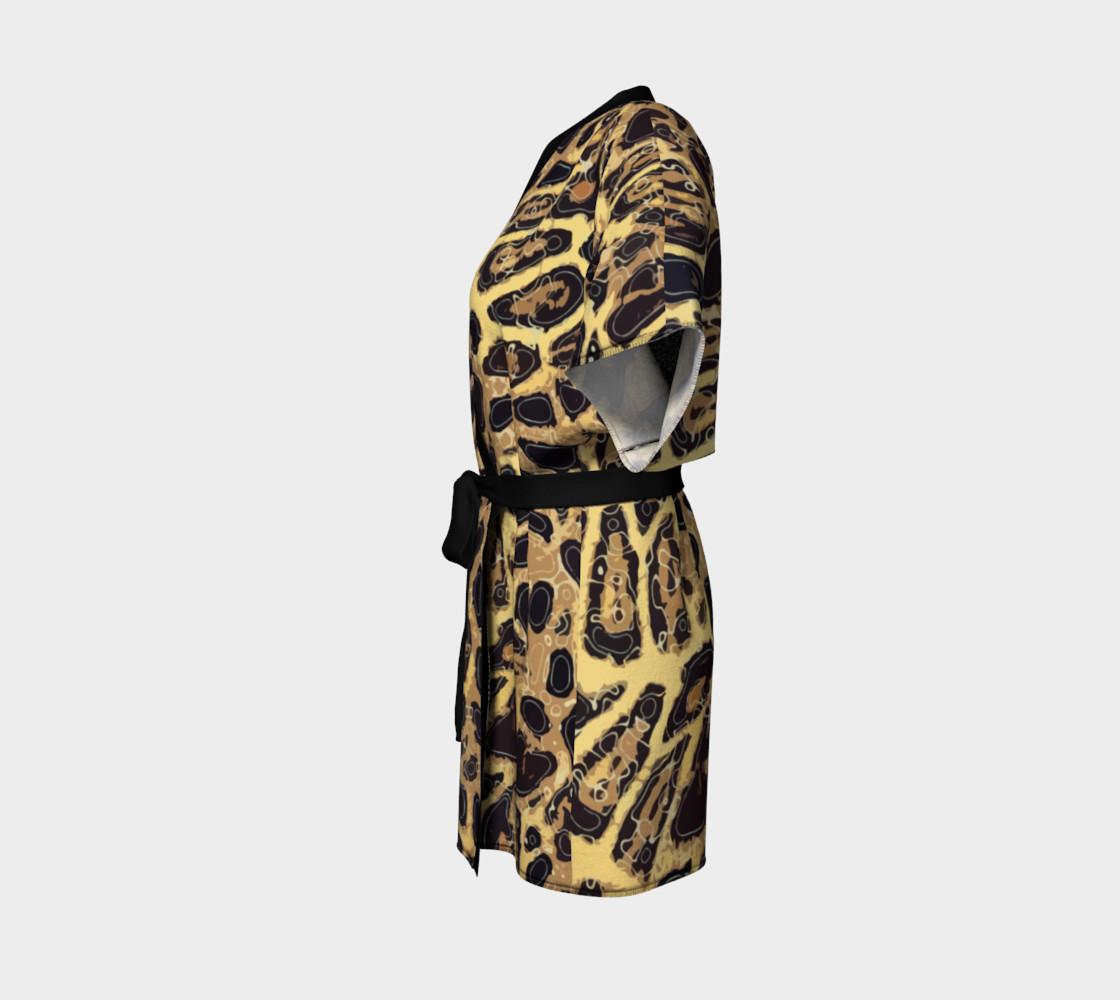 Leopard Kimono Robe preview #2
