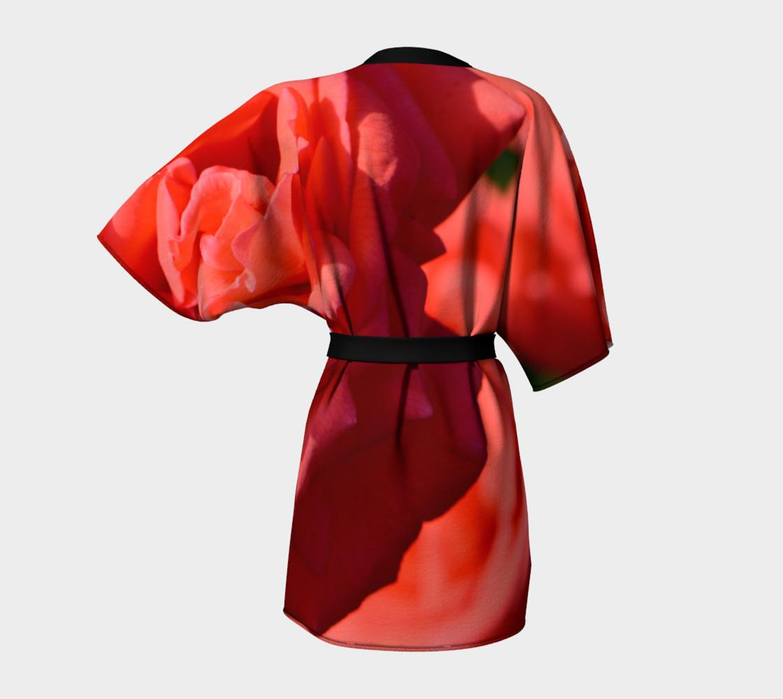 La Vie en Rose Kimono Robe preview #4