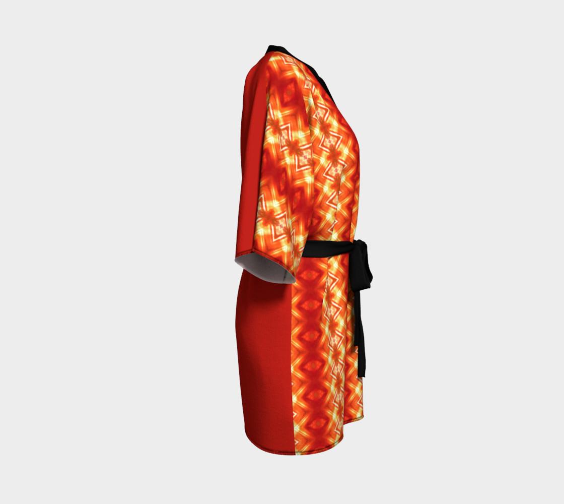 Aperçu de Orange Flower Diamond  #3