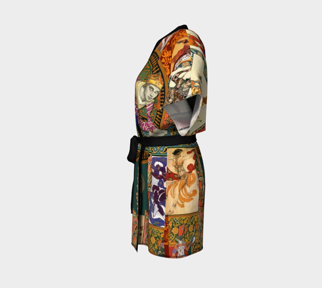 Aperçu de Ballets Russes Tapestry - Kimono Robe #2