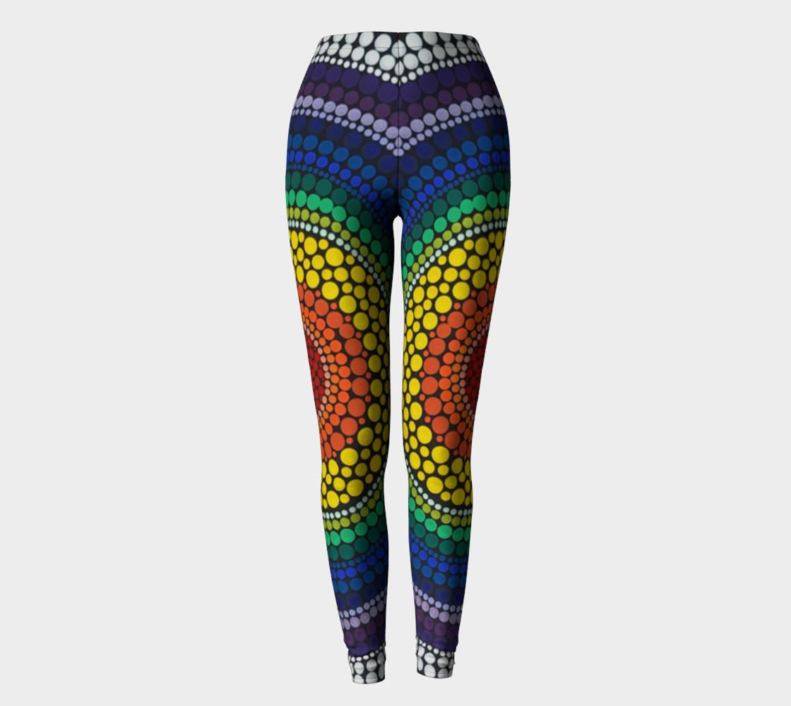 Rainbow leggings preview #2