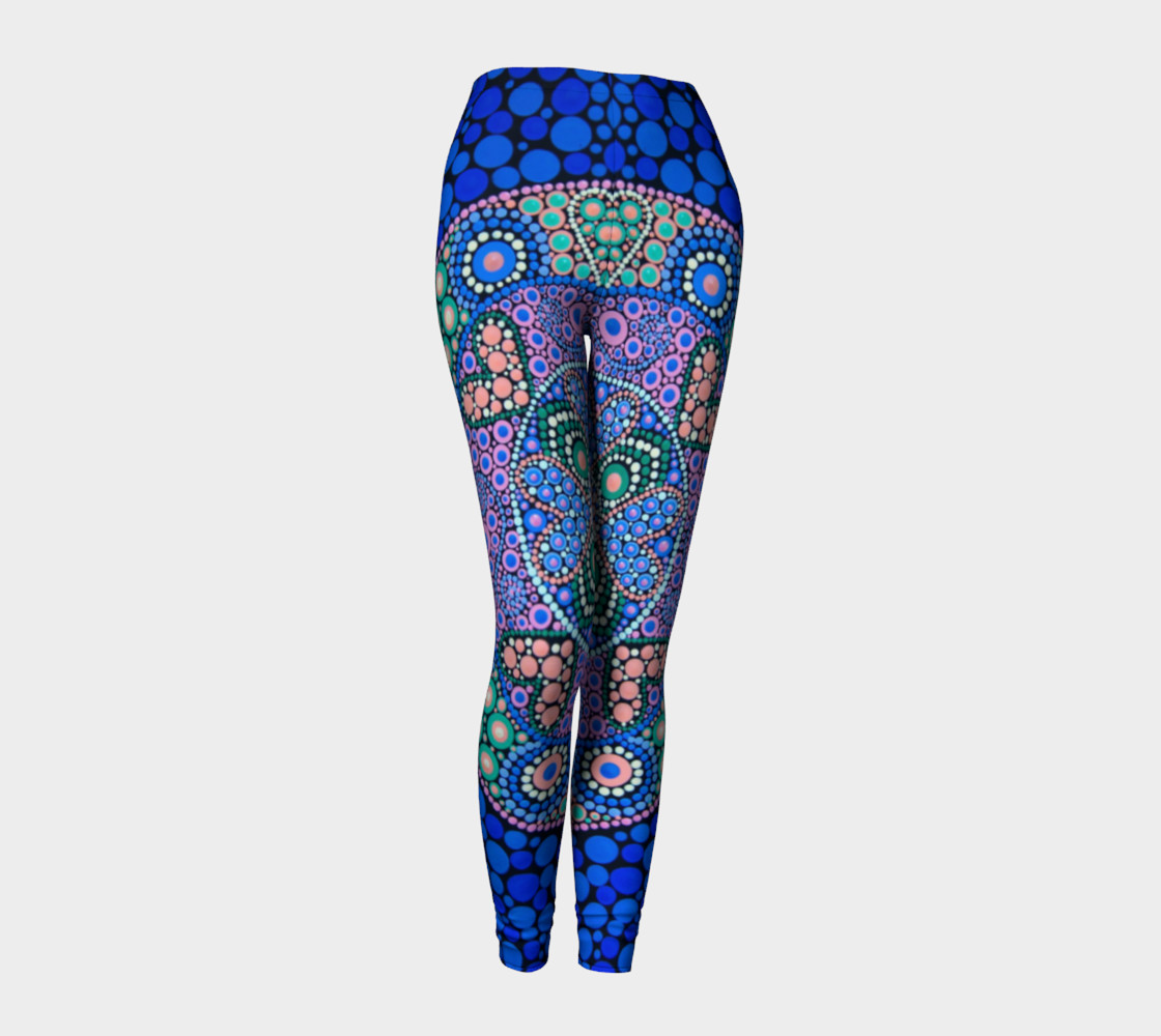 BlinkitArt TimeMandala Leggings3 thumbnail #2