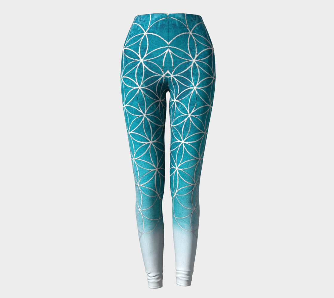 Flower of Life Blue Gradient preview #2
