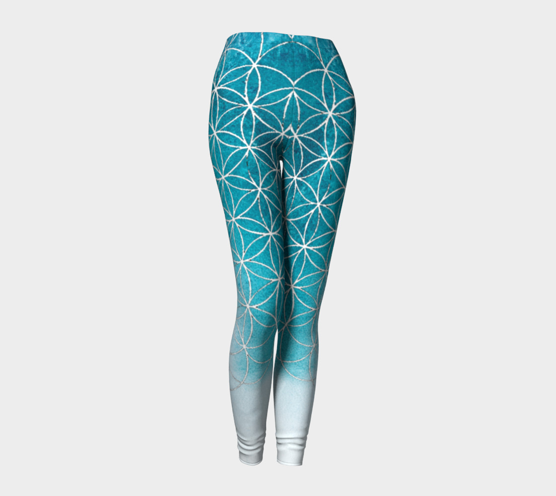 Flower of Life Blue Gradient preview #1