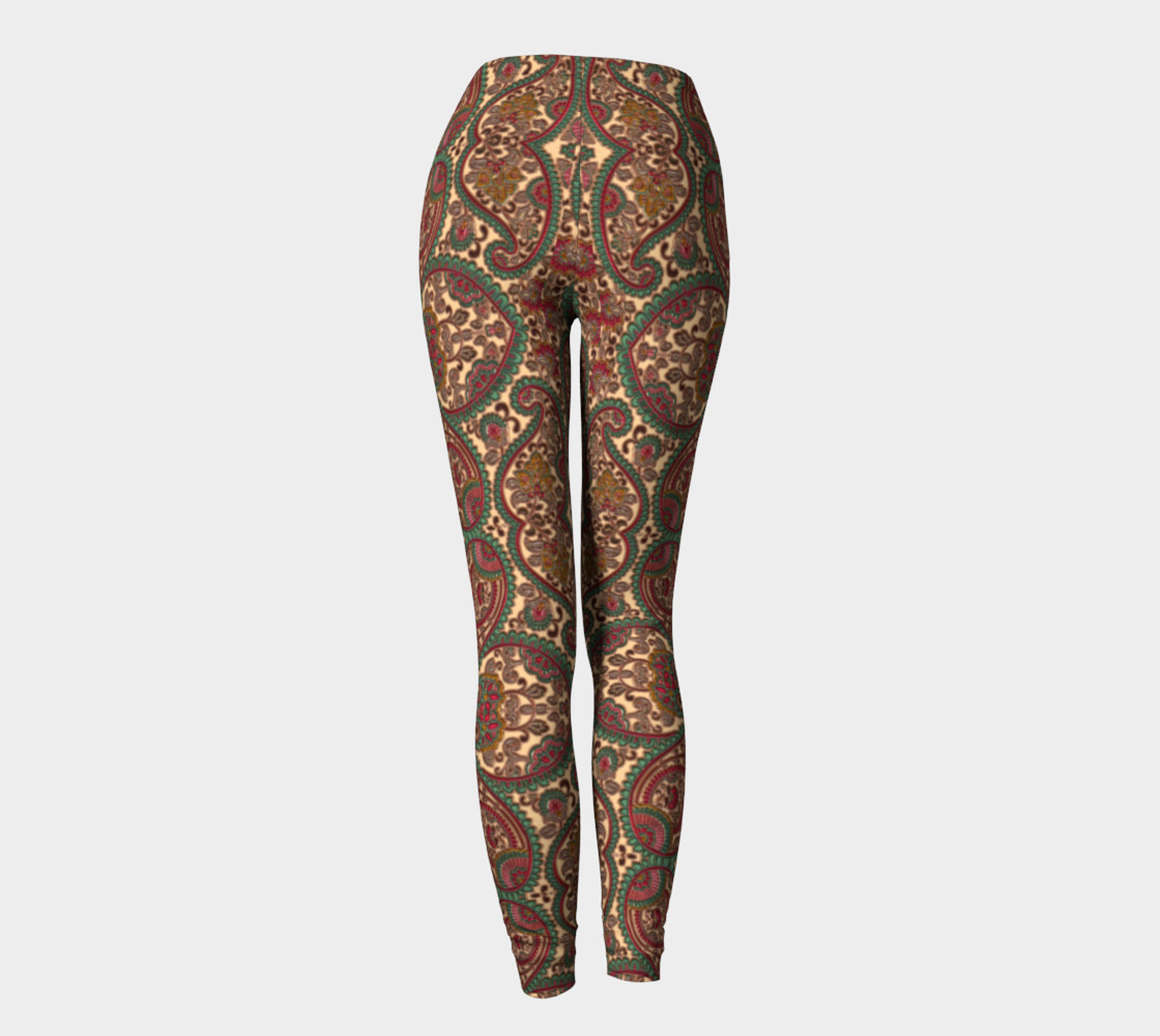 Heart Victorian Design Leggings preview #4