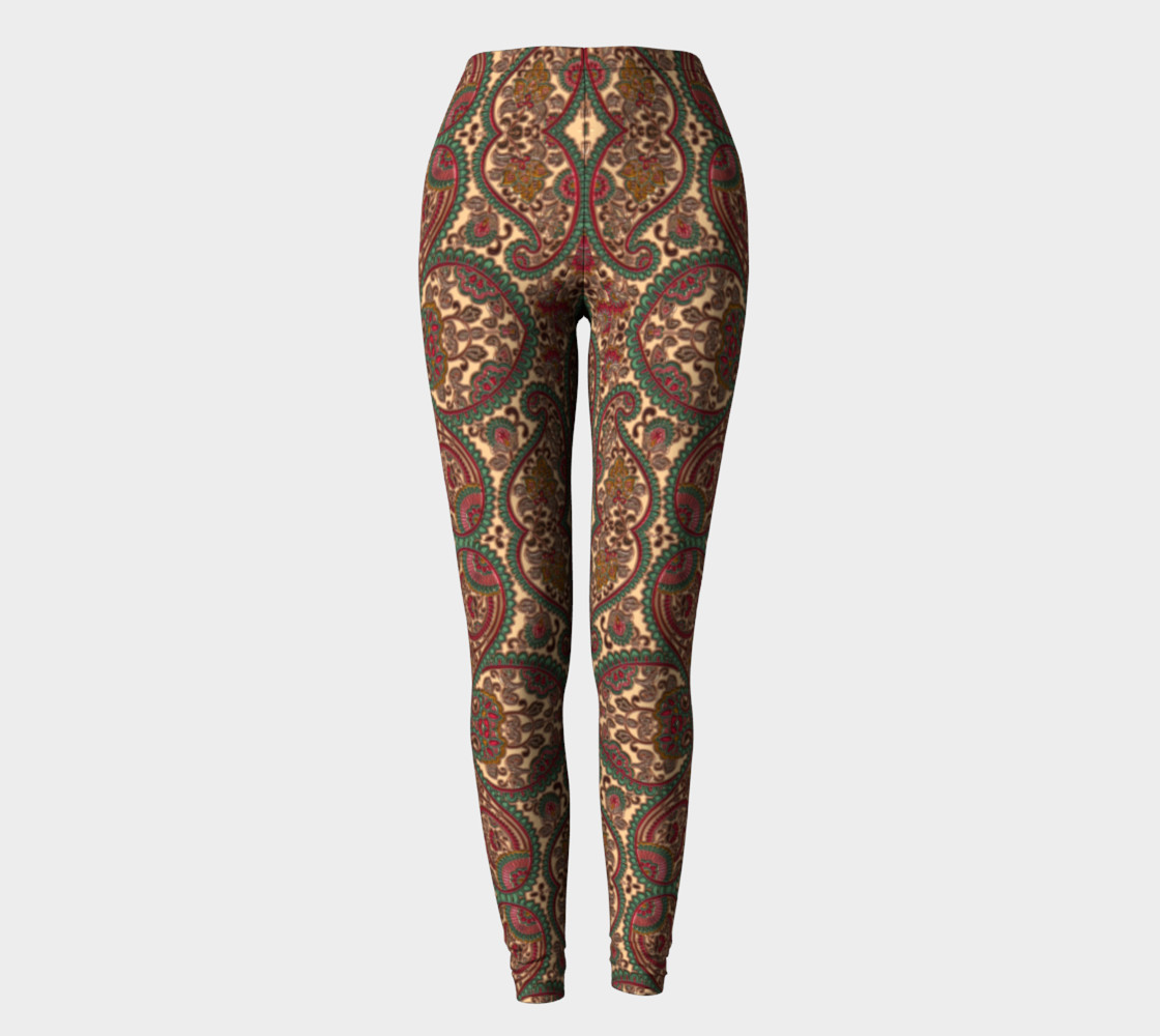Heart Victorian Design Leggings preview #2