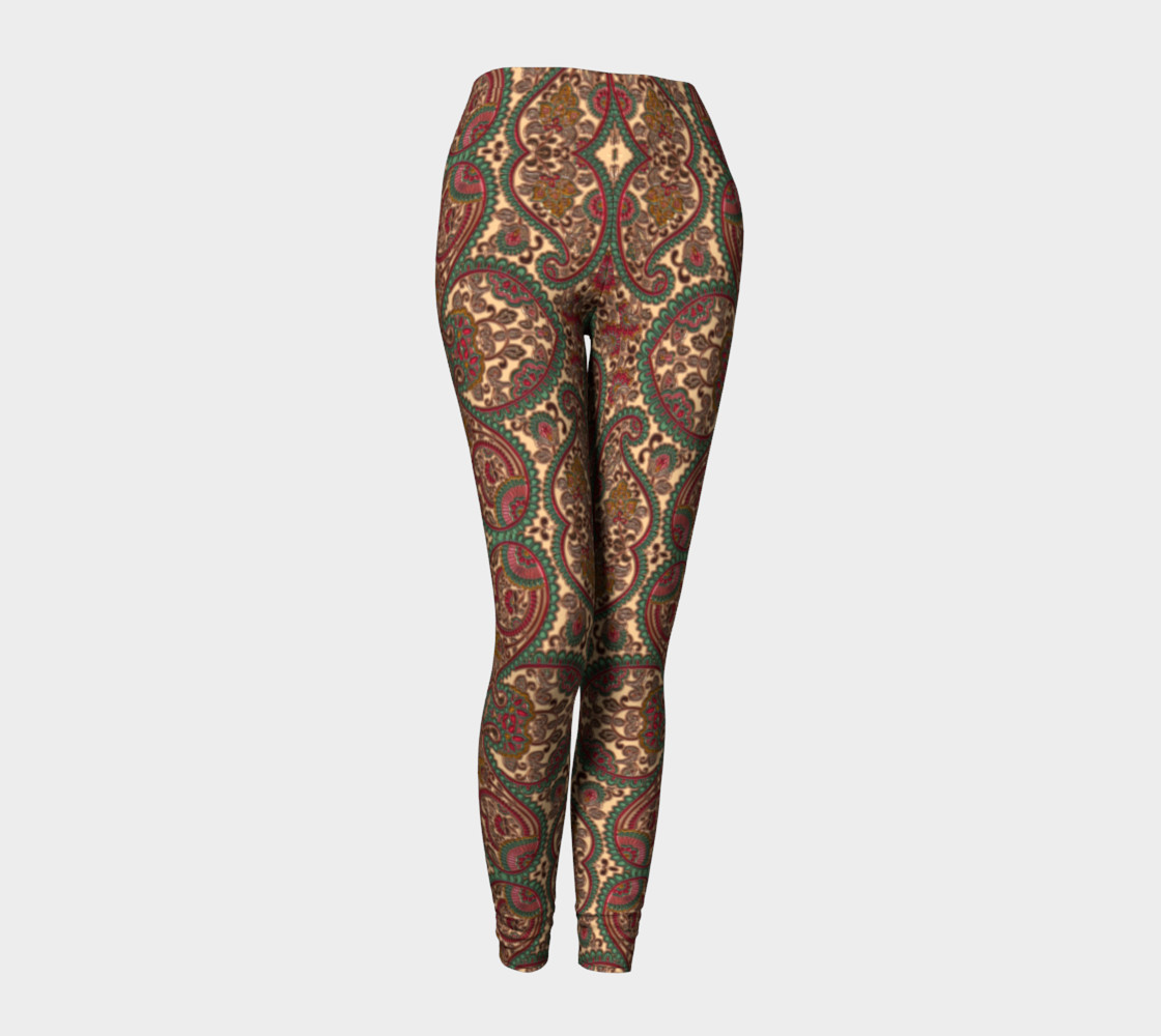Heart Victorian Design Leggings preview #1