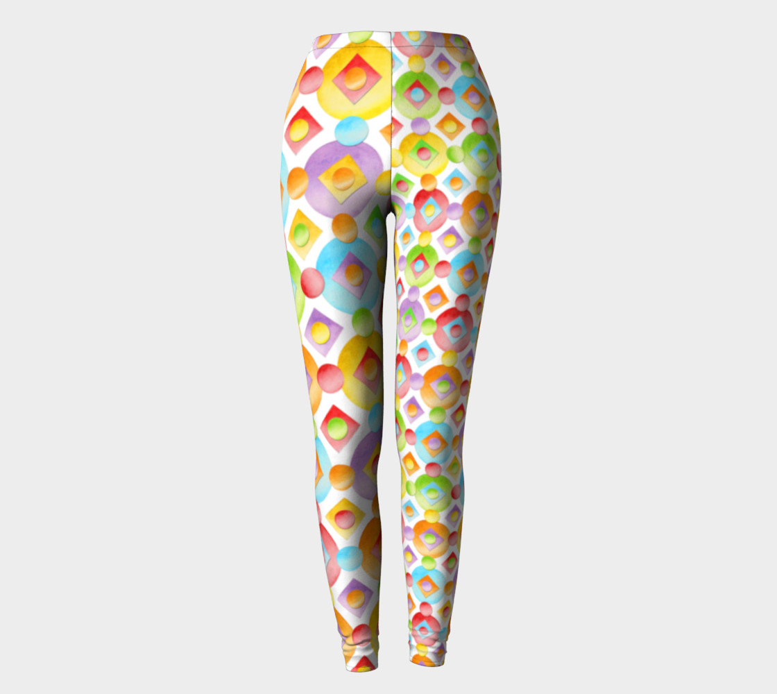 Aperçu de Happy Rainbow Dots Ankles two scales #2