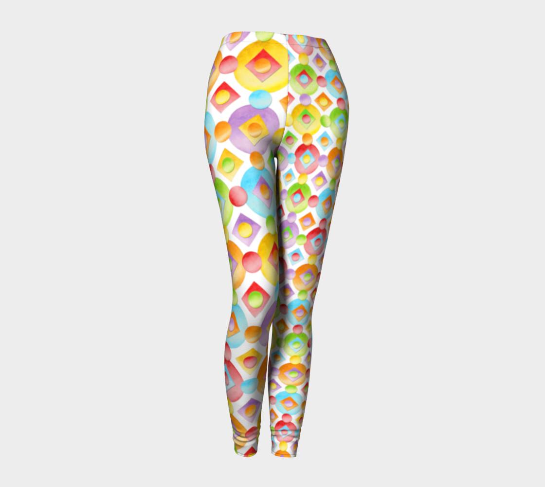 Aperçu de Happy Rainbow Dots Ankles two scales #1
