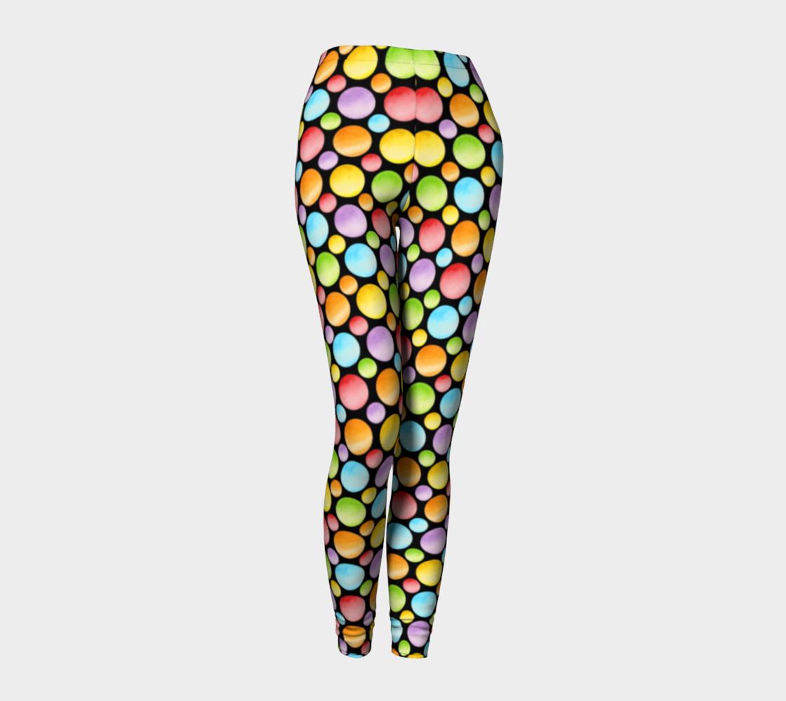 Aperçu de Rainbow Polka Dots Ankles smaller dot #1