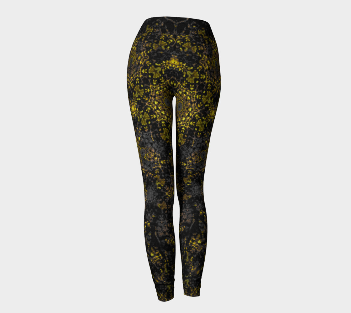 Gold Reign Leggings preview #4