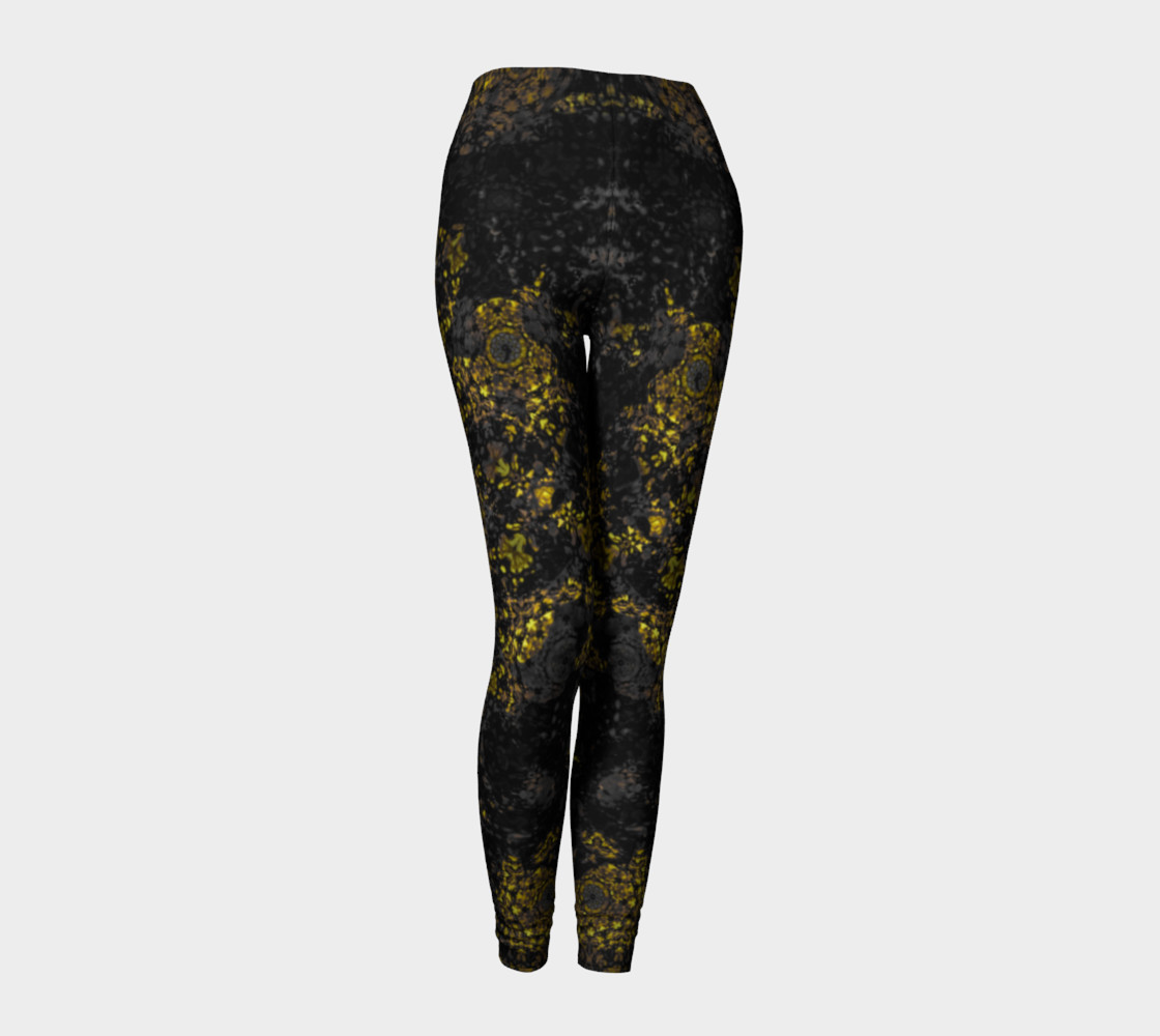 Gold Reign Leggings preview #1