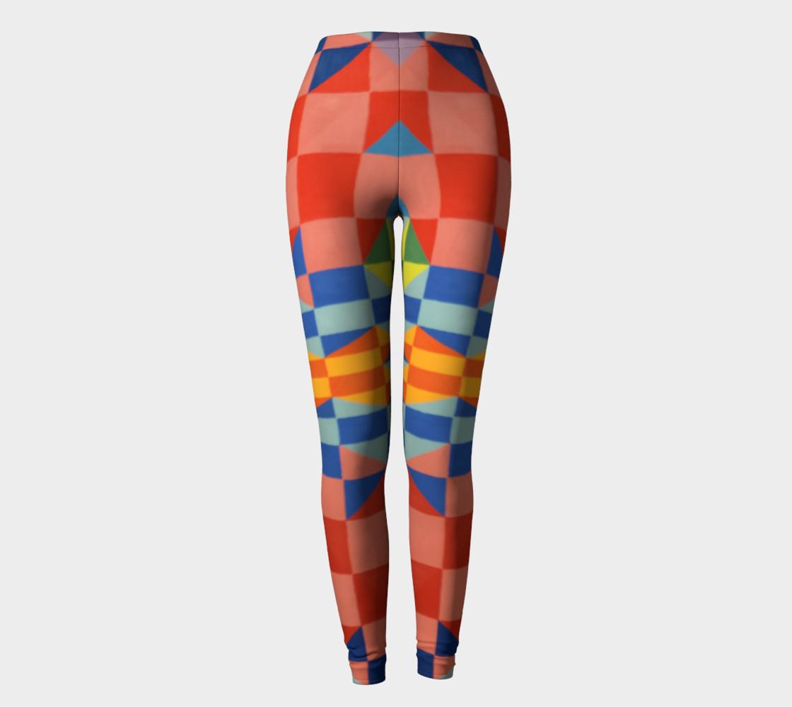 Kaleidoscope leggings preview #2