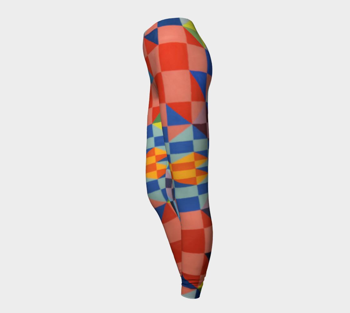 Kaleidoscope leggings preview #3