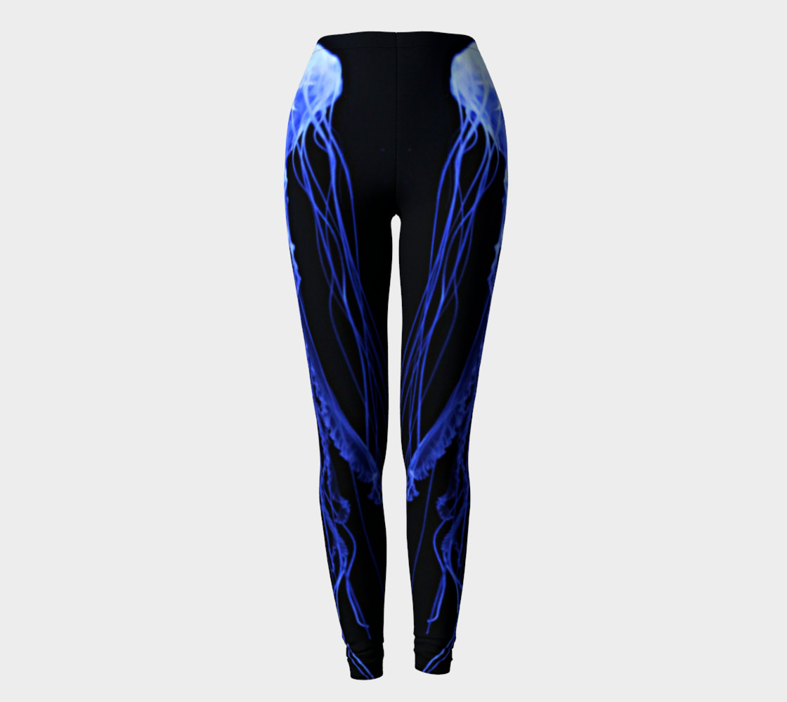 Jelly Black Light Reactive Leggings  Miniature #3