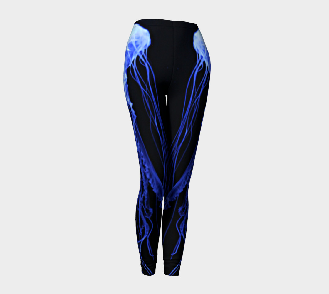 Aperçu 3D de Jelly Black Light Reactive Leggings