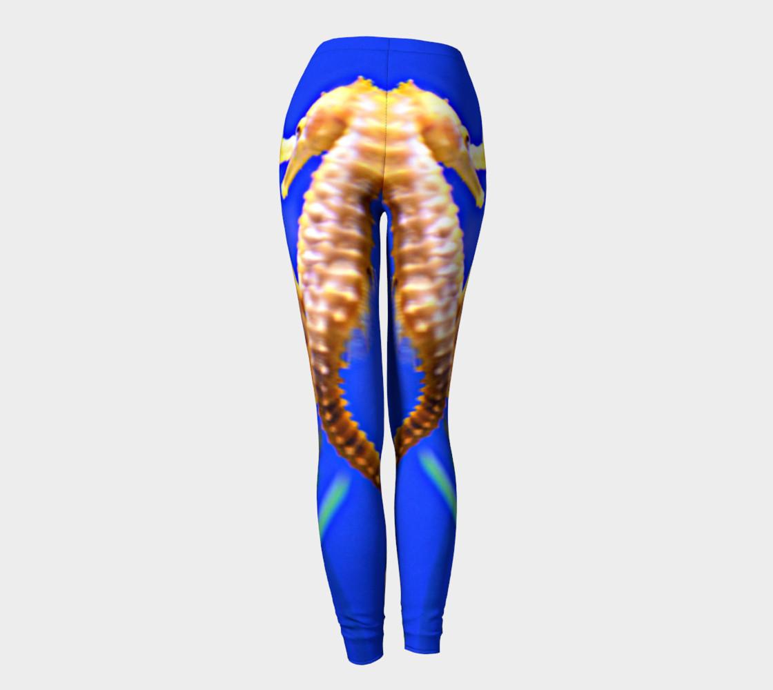 Dancing Seahorses Leggings  preview #4