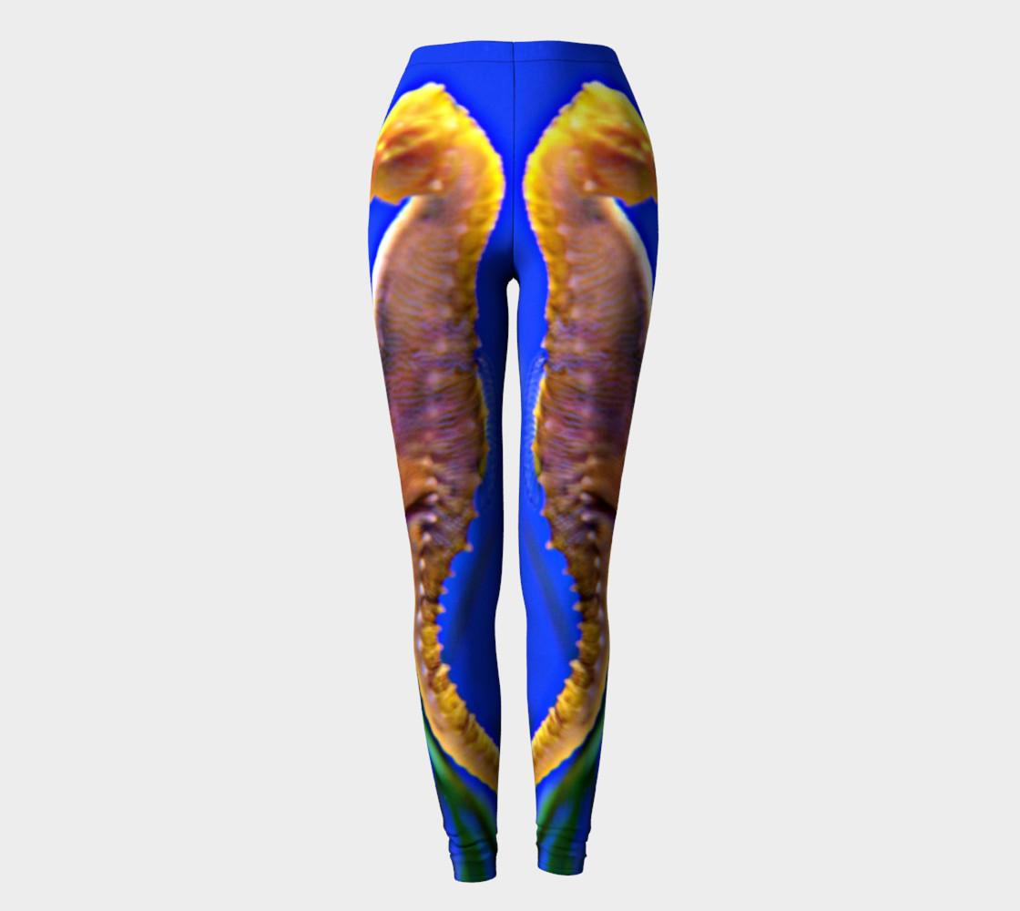 Dancing Seahorses Leggings  preview #2