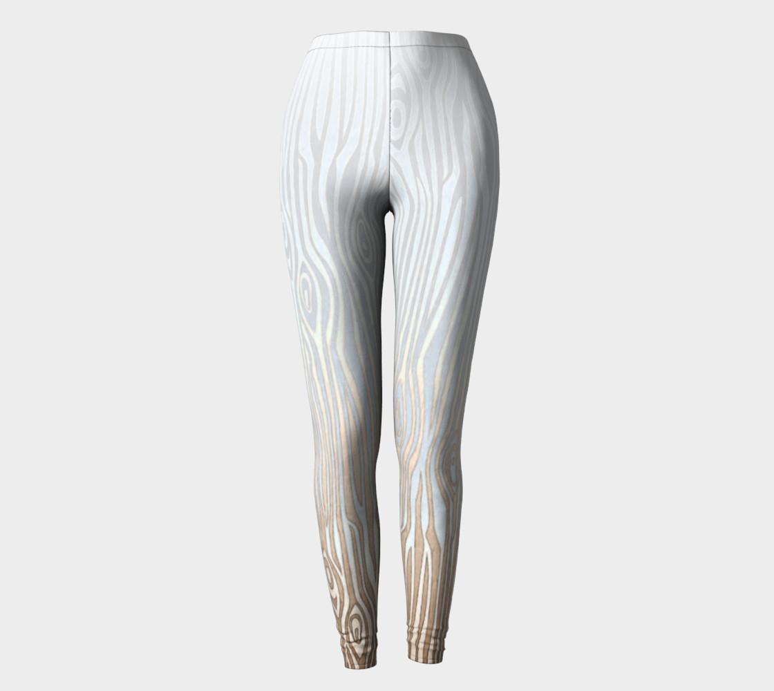 White Tree Bark Leggings preview #2