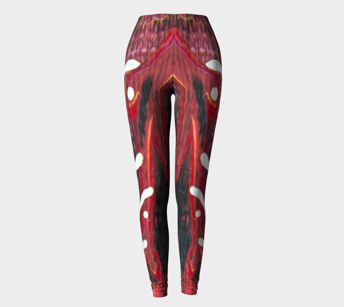 red leggings white petroglyphs preview #2