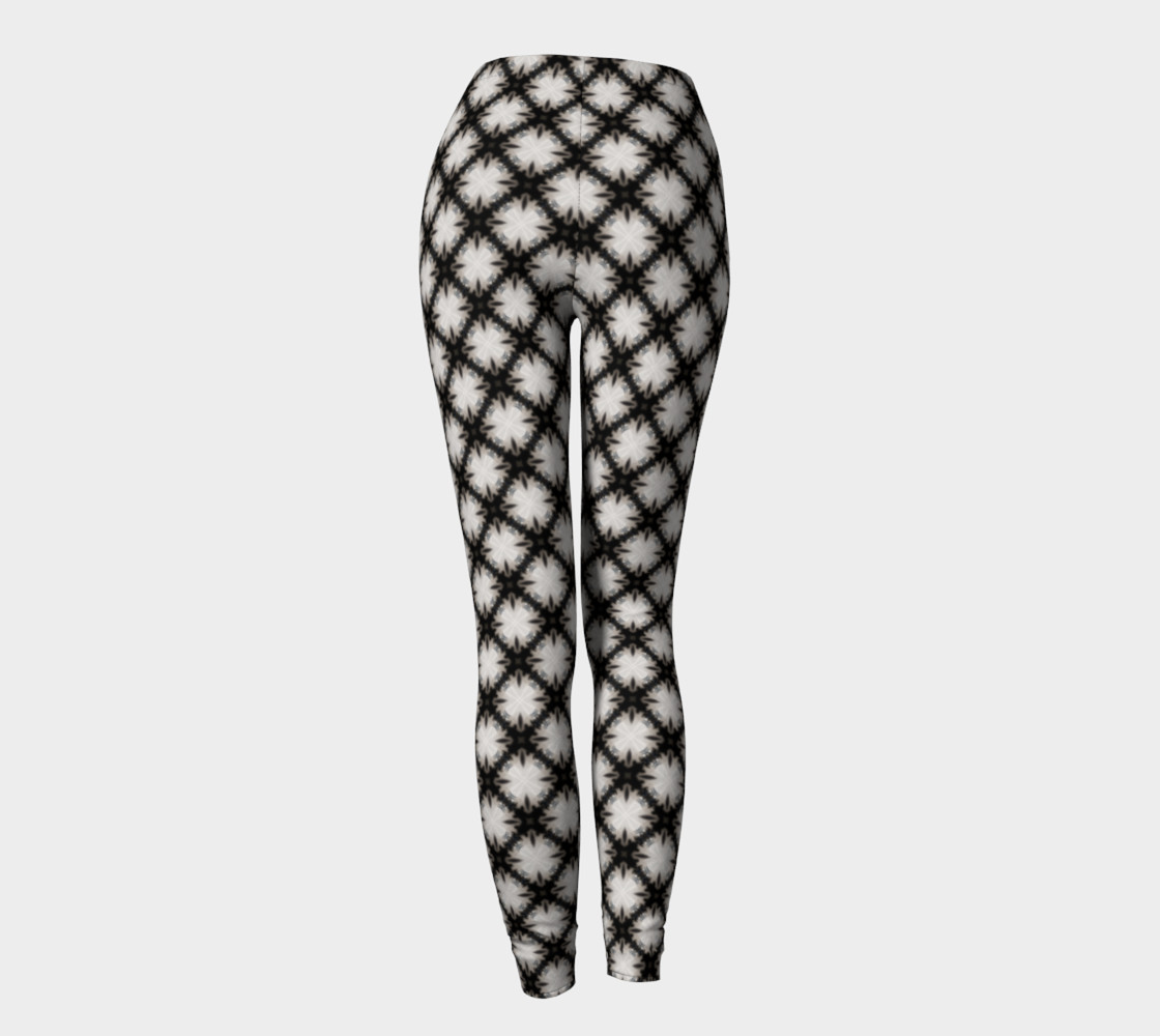 Fitness Fashion Blk Wht Pattern preview #4