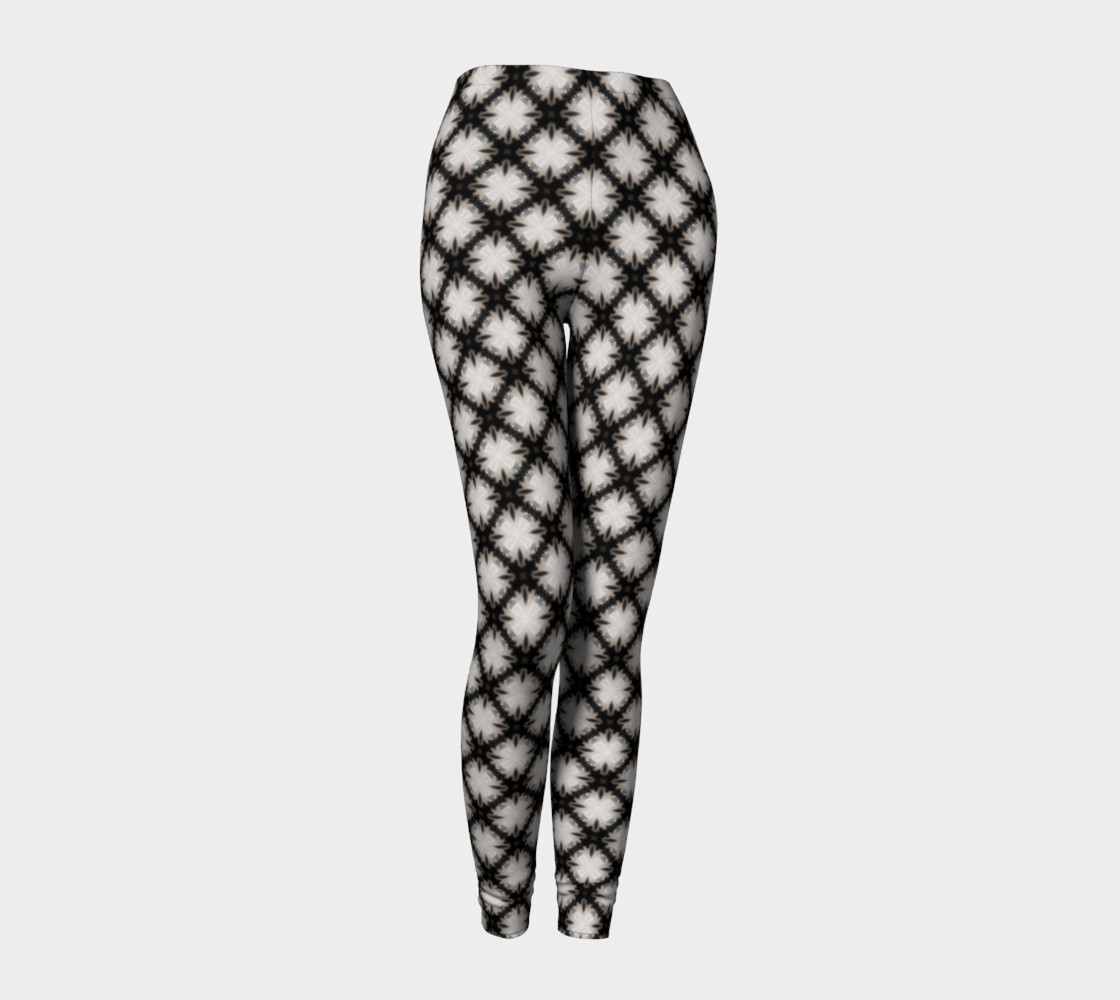 Fitness Fashion Blk Wht Pattern preview #1