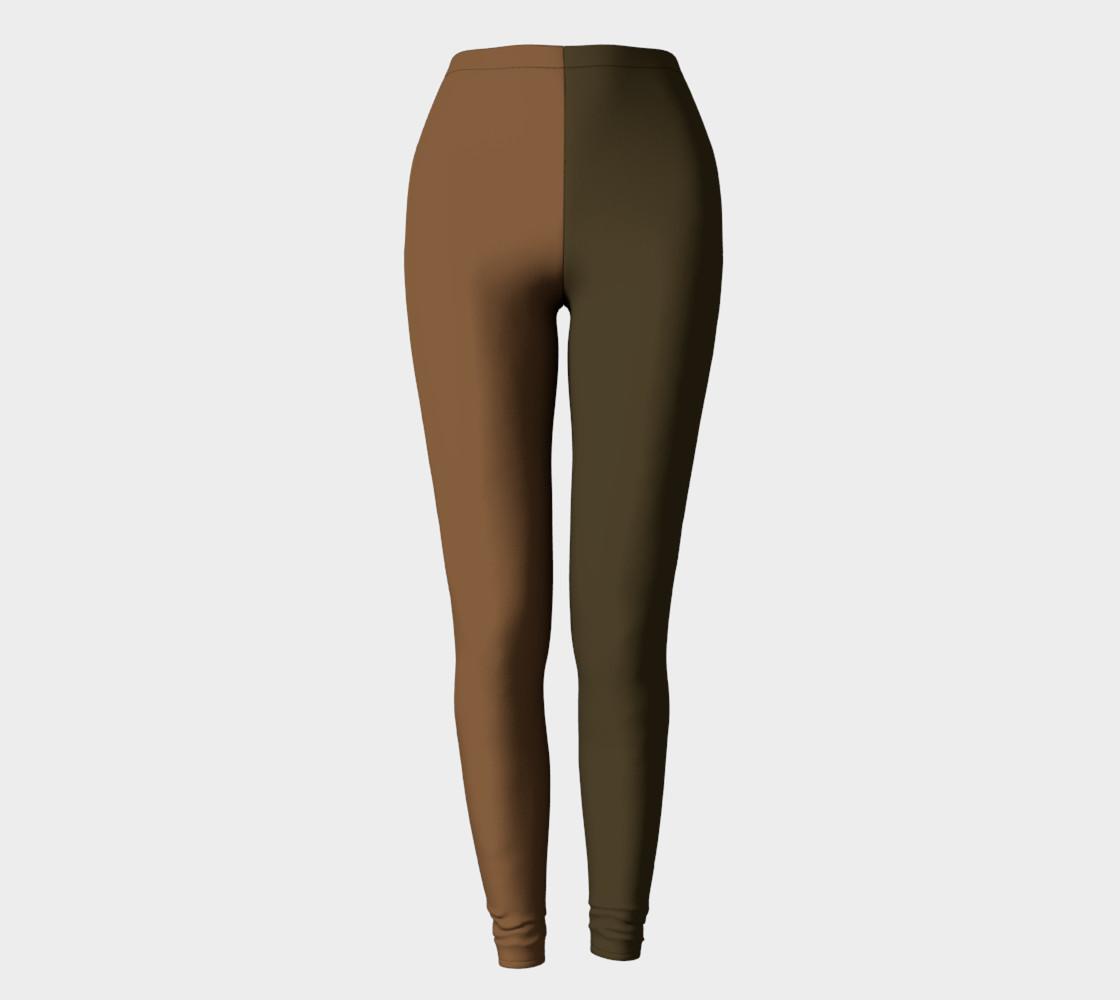 Not Brown - MOCHA Leggings preview #2