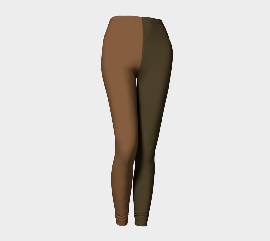 Not Brown - MOCHA Leggings preview #1