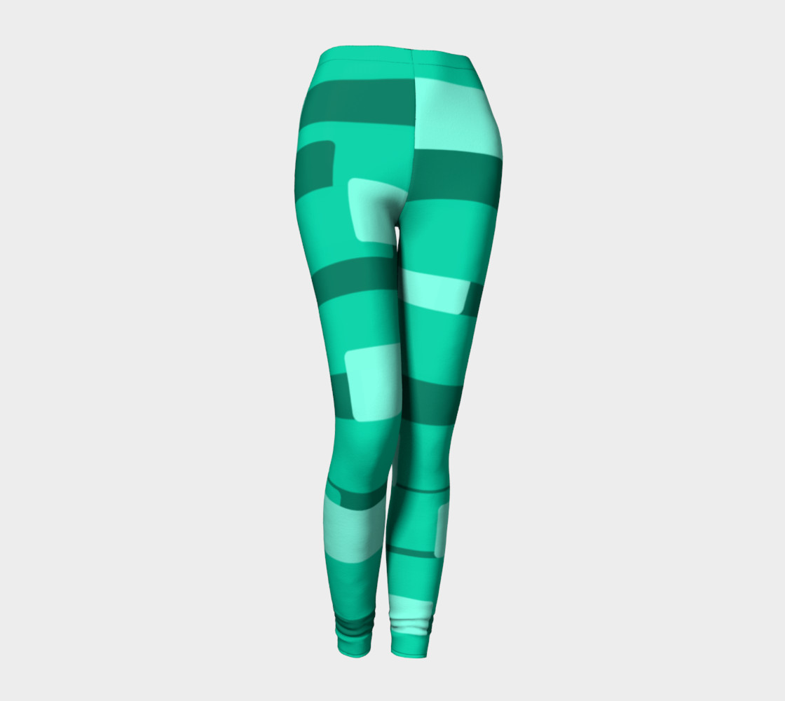 Teal Ocean Leggings preview #1