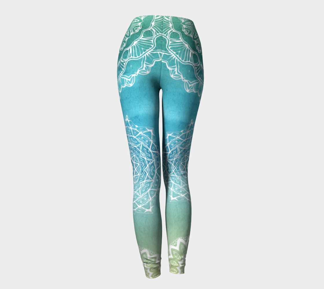Mermaid Lace LEggings preview #4
