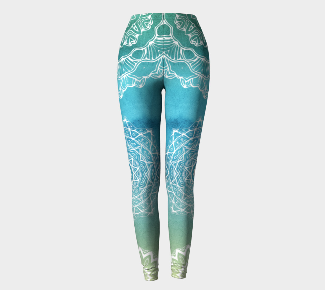 Mermaid Lace LEggings preview #2