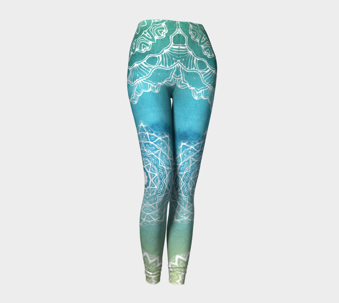 Mermaid Lace LEggings preview #1