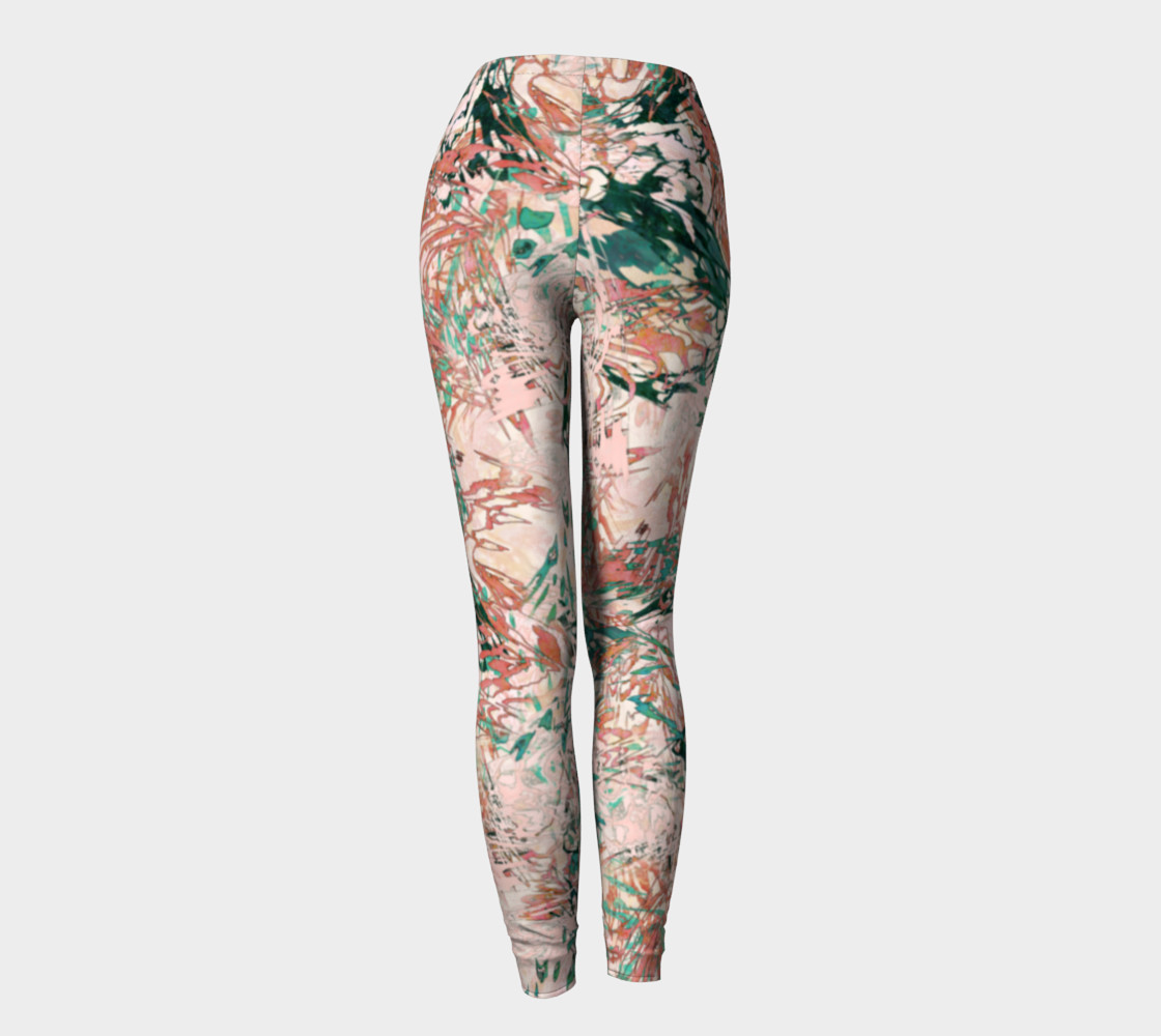 Mock Floral Blush Abstract preview #4