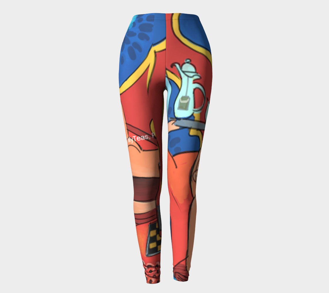 Matisse Parody Leggins by Rick London preview #2