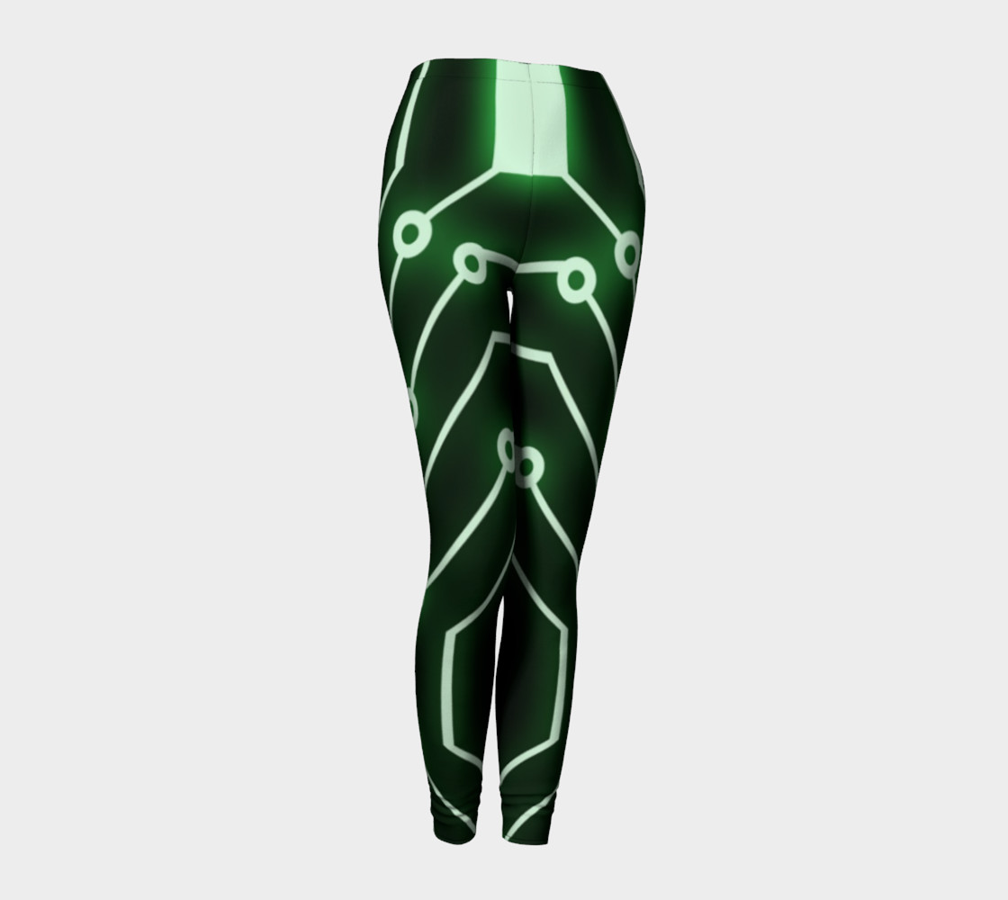 Neon Green Robot pants preview #1