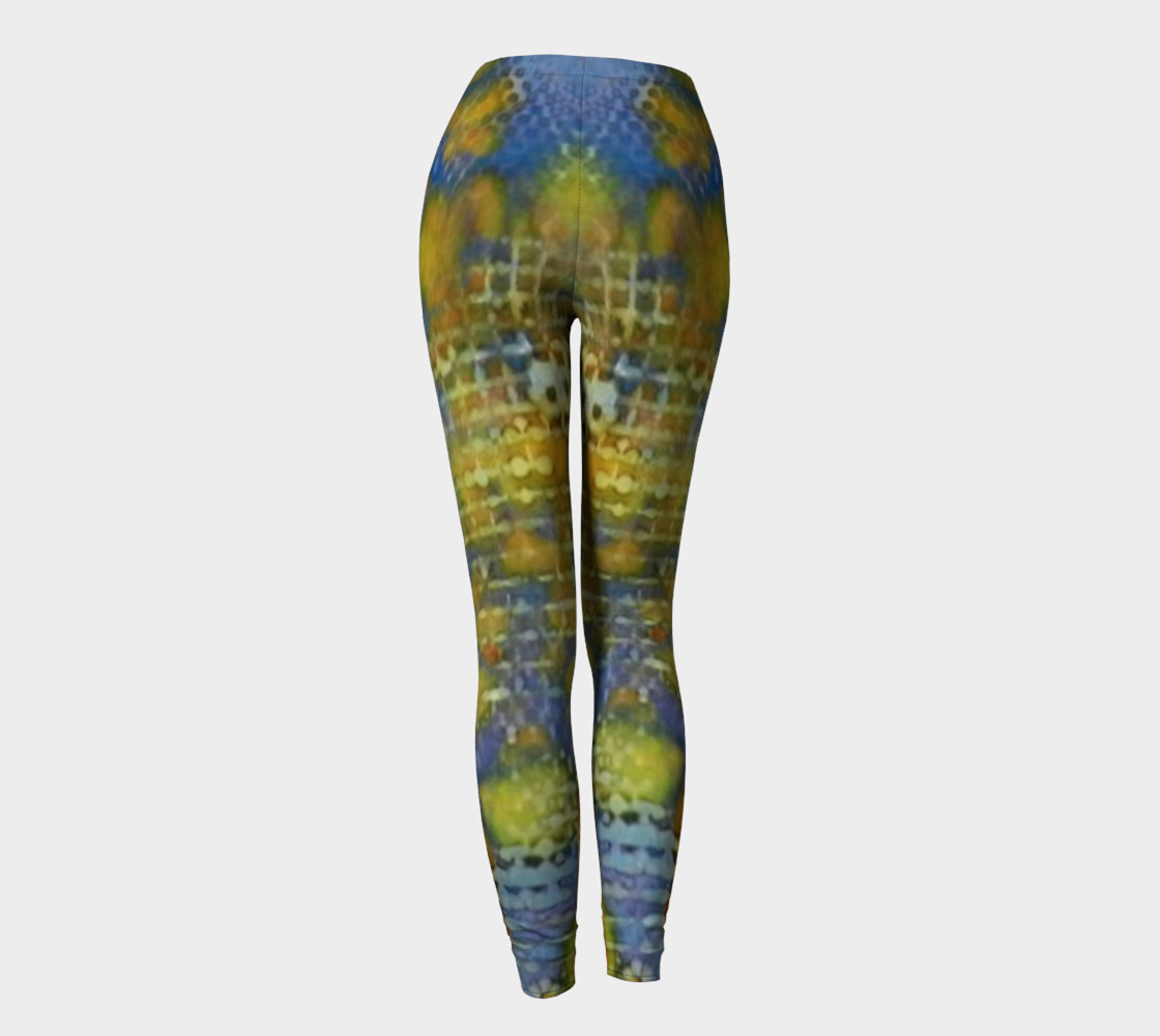 Paprika Drift Ink #17 Yoga Leggings preview #4