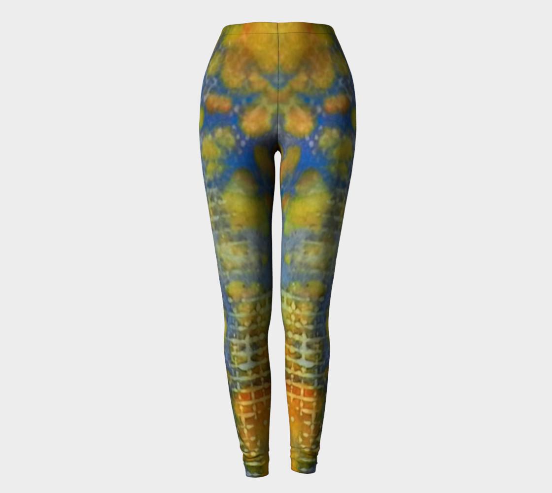 Paprika Drift Ink #17 Yoga Leggings preview #2