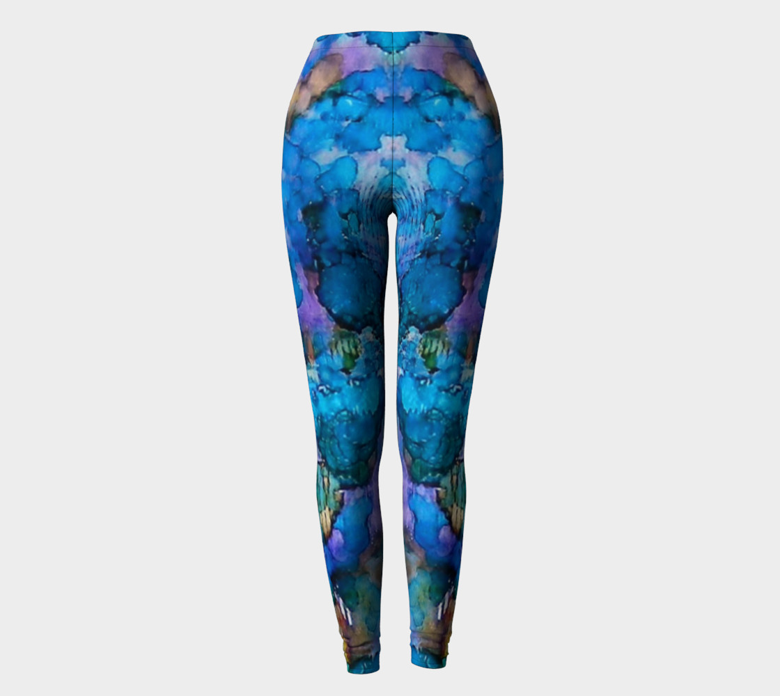 Aperçu de Twilight Recall Ink #20 Yoga Leggings #2