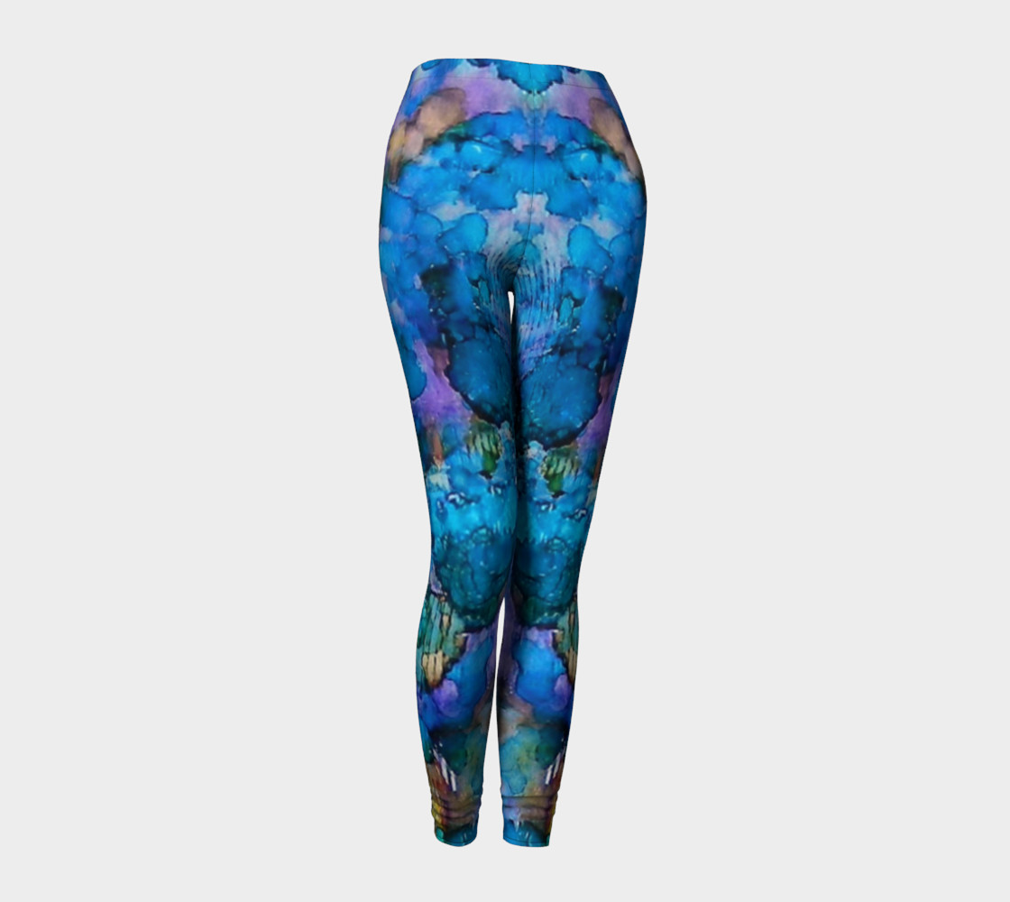 Aperçu de Twilight Recall Ink #20 Yoga Leggings #1
