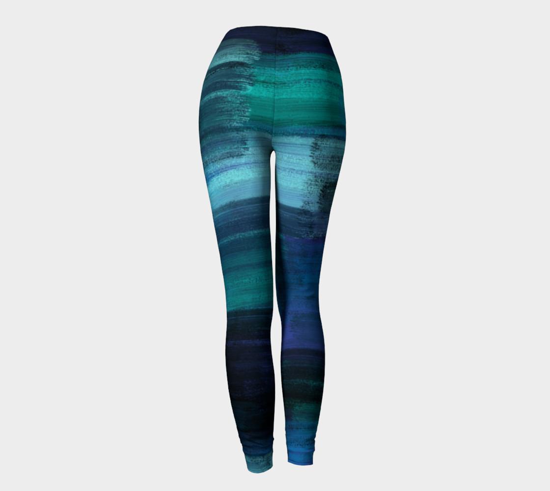 Midnight Ocean Leggings preview #4