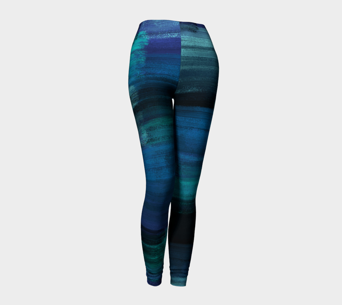 Midnight Ocean Leggings preview #1