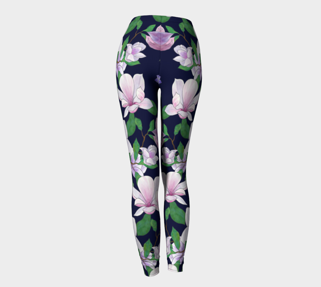 Magnolia Floral Frenzy Leggings preview #4