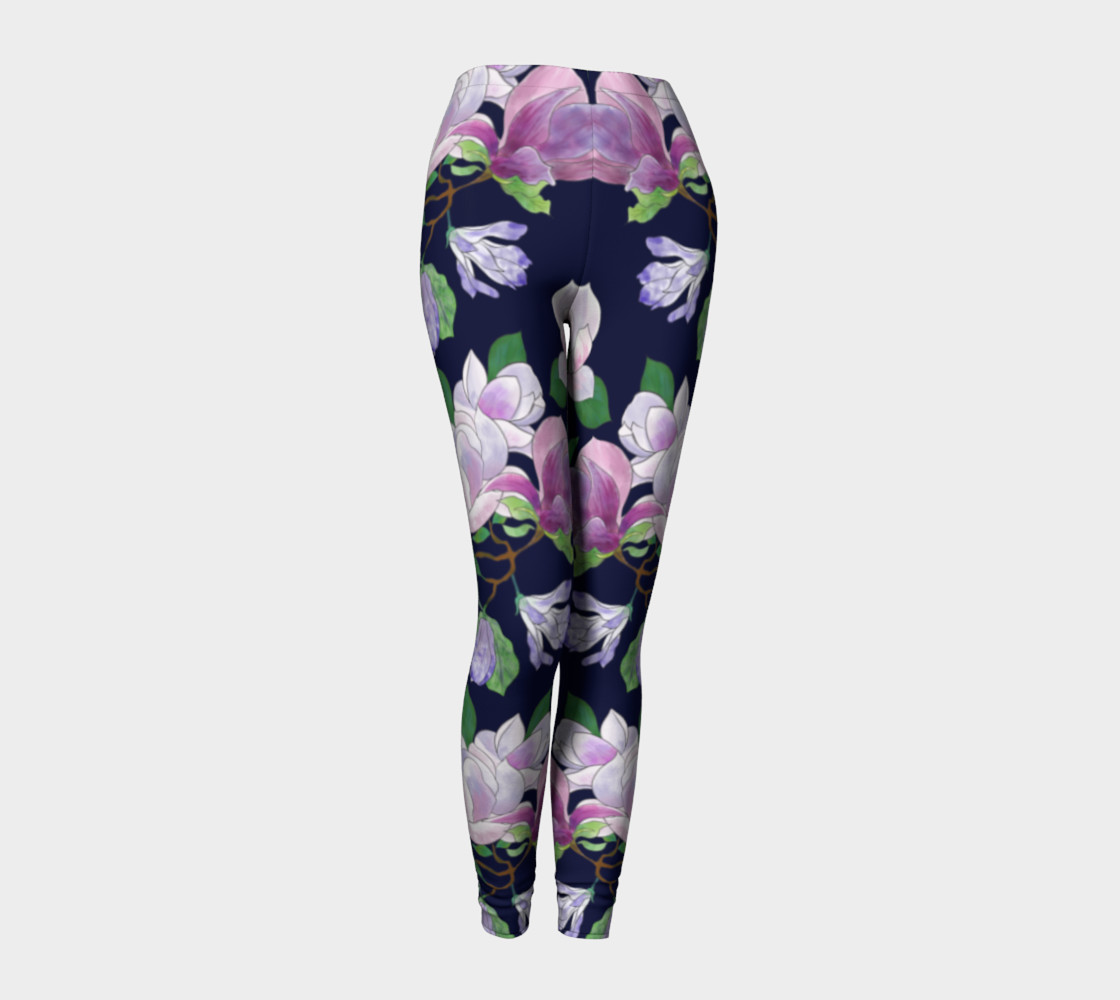 Magnolia Floral Frenzy Leggings preview #1