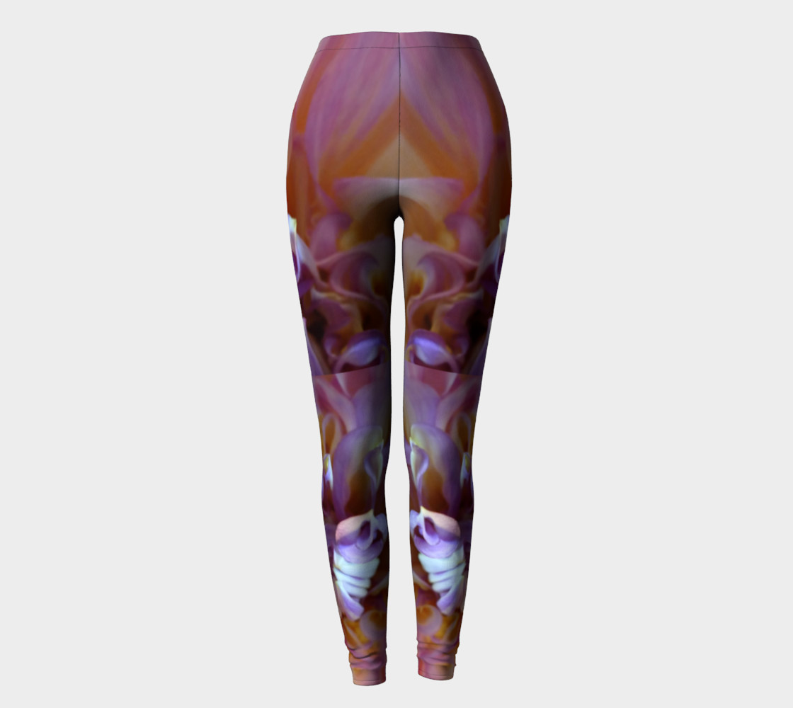 Floral Melody #3 Leggings preview #2