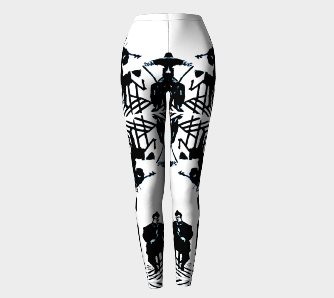 Aperçu de Chamber Jazz / Daring-Do Jazz Print Leggings #2