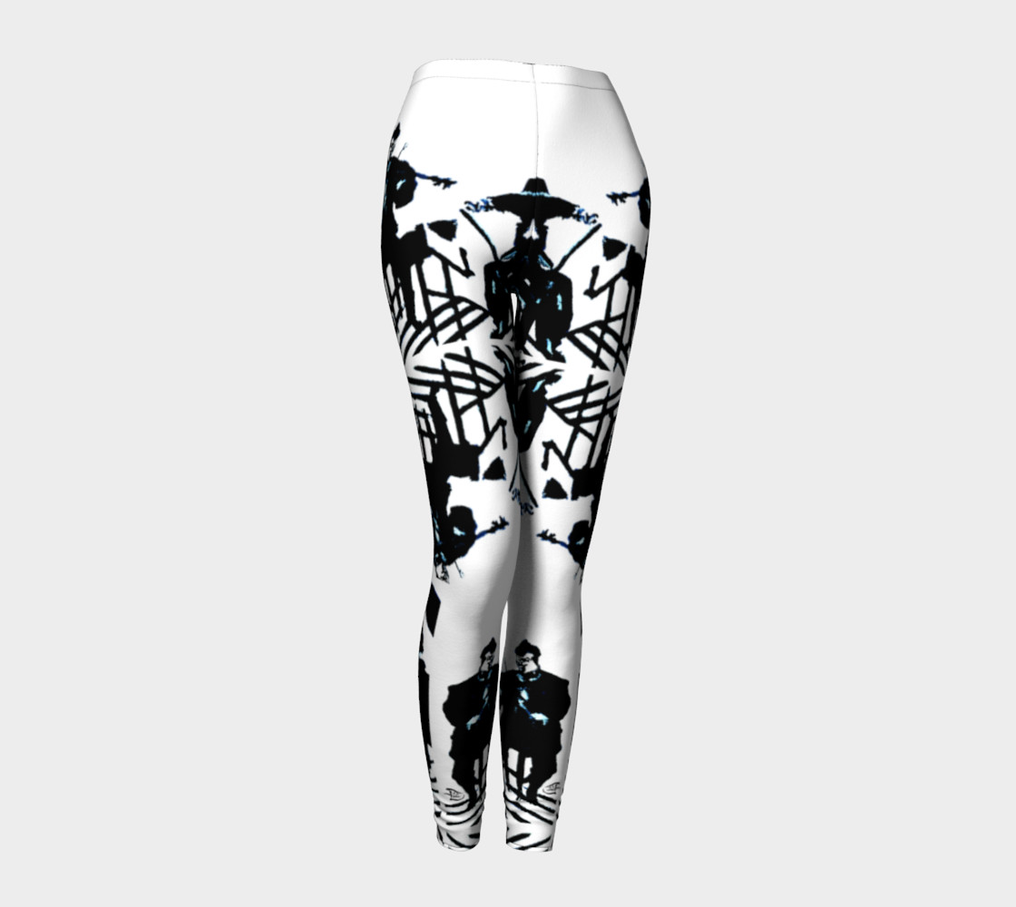 Aperçu de Chamber Jazz / Daring-Do Jazz Print Leggings #1