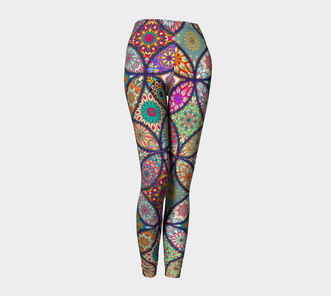 Vibrant Mandalas Leggings preview #1