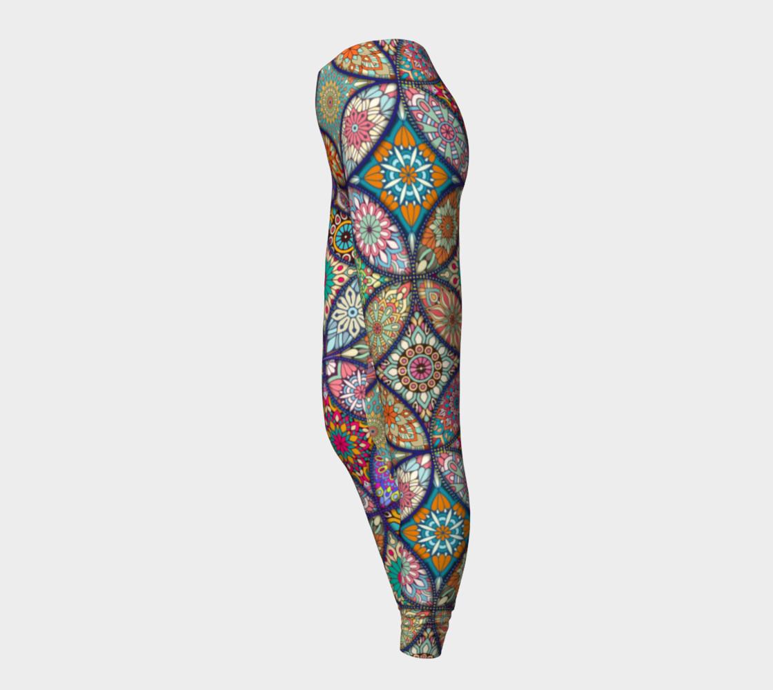 Vibrant Mandalas Leggings preview #3